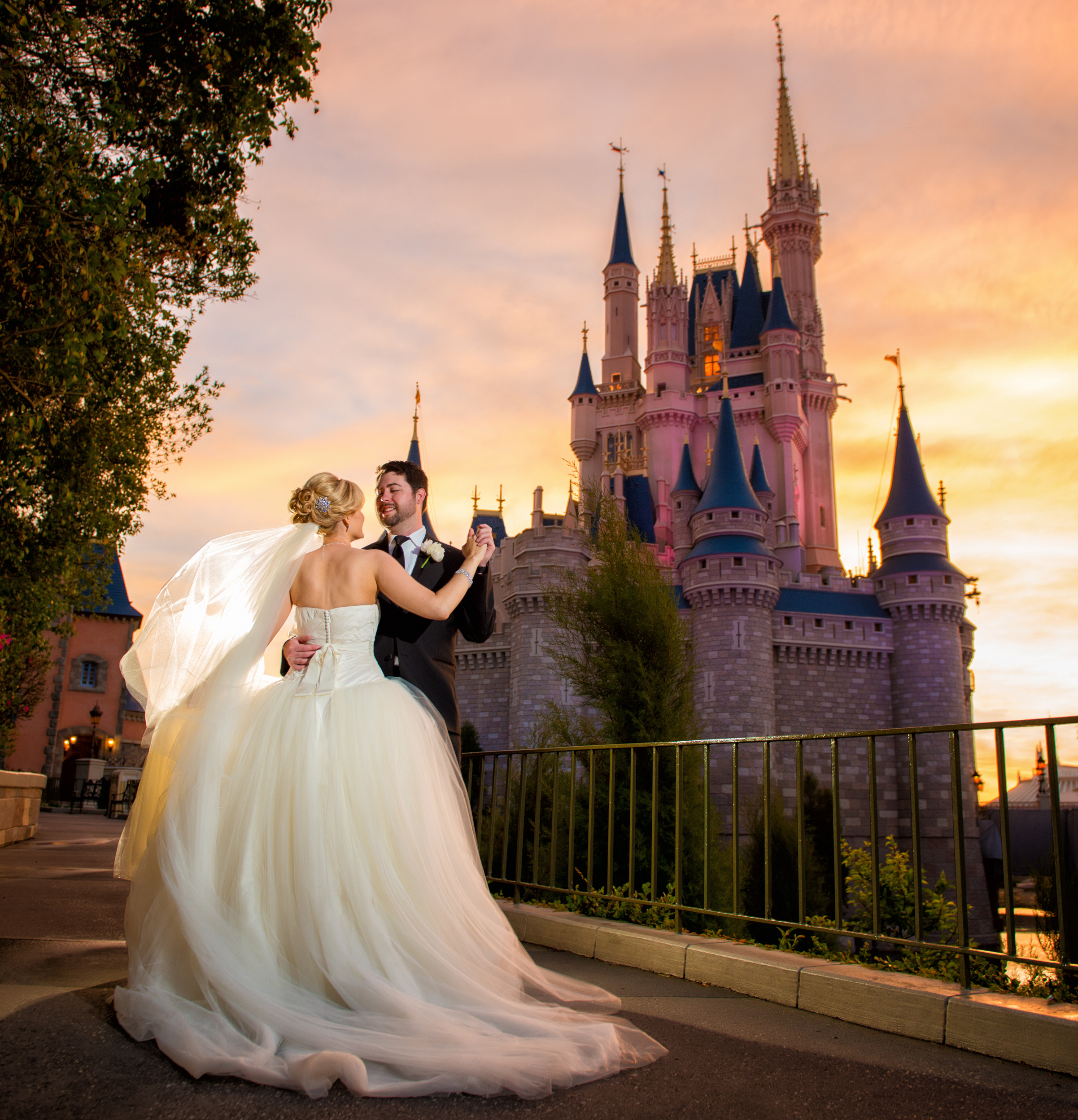 Fairy Tale Wedding: Fairy Tale Weddings: Tying The Knot At Disney Parks And