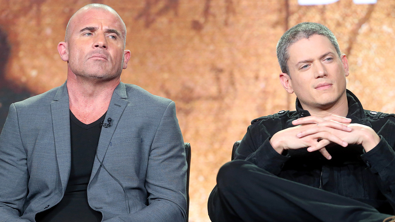 Exclusive Wentworth Miller And Dominic Purcell Open Up About Reuniting For Prison Break Revival Kare11 Com
