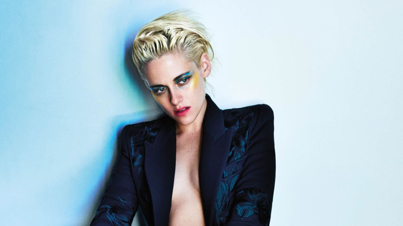 The Kristen stewart as a blonde