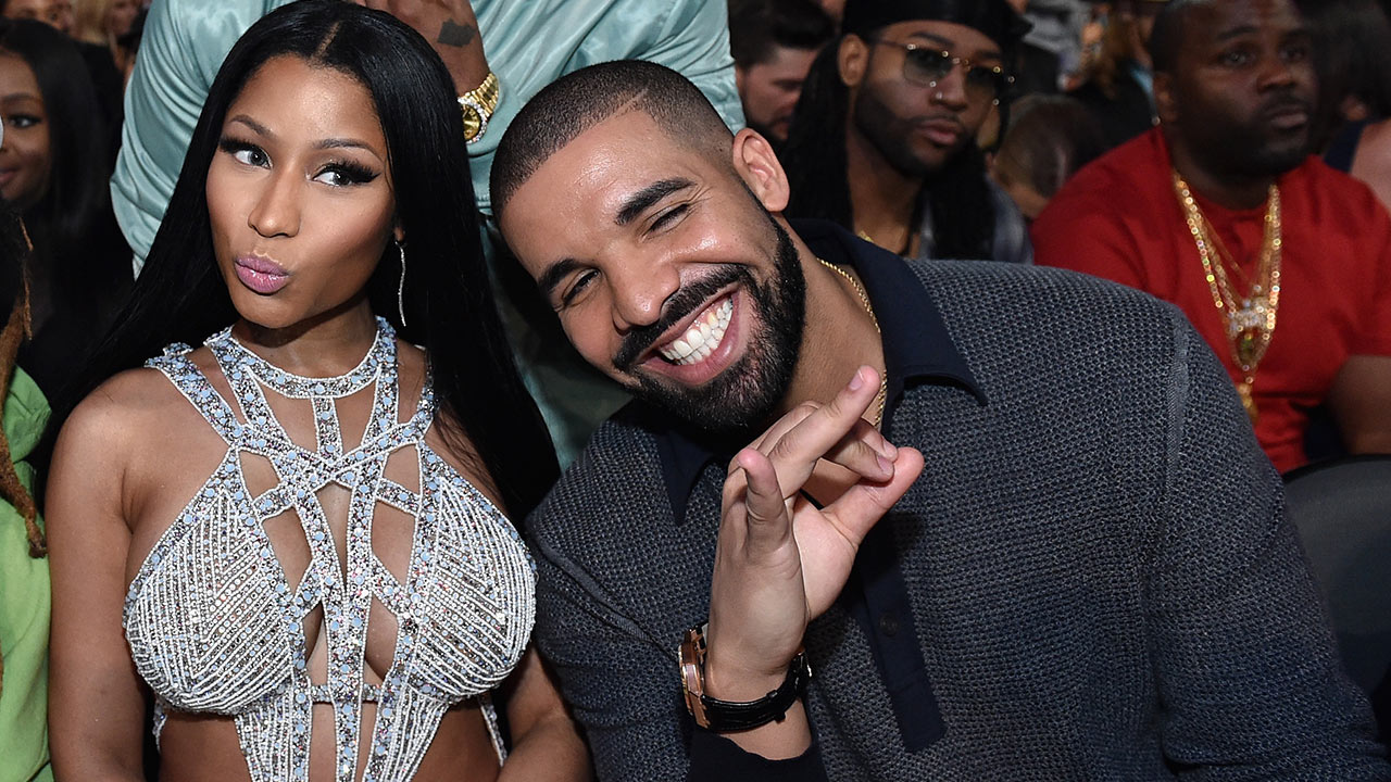 Drake and Nicki Minaj Show Each Other Love at 2017 ...