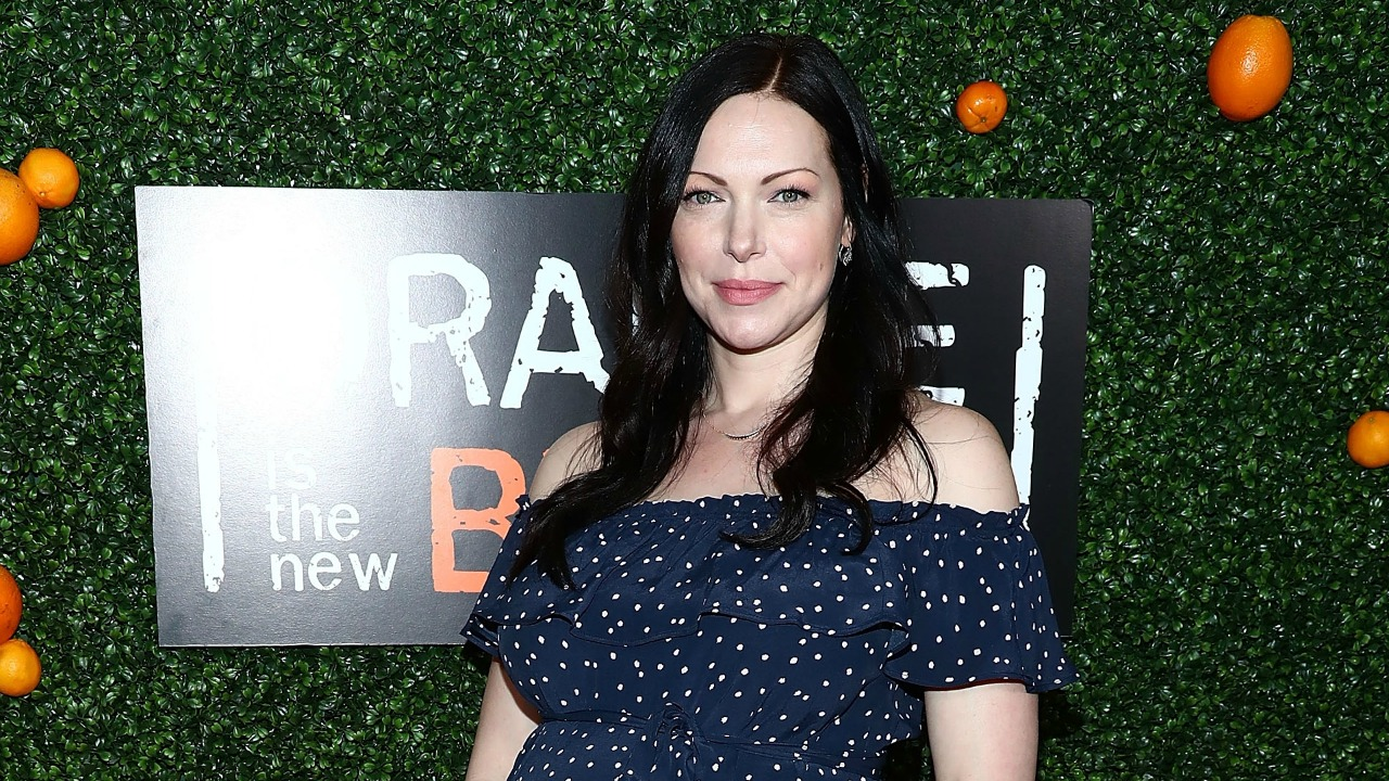 Laura Prepon Shows Off Baby Bump at 'Orange Is The New ...