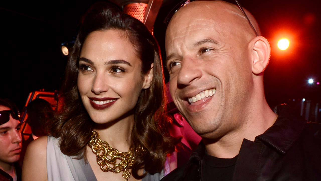 Gal gadot vin diesel have a mini fast furious reunion with their daughters see the cute pic kare11 com