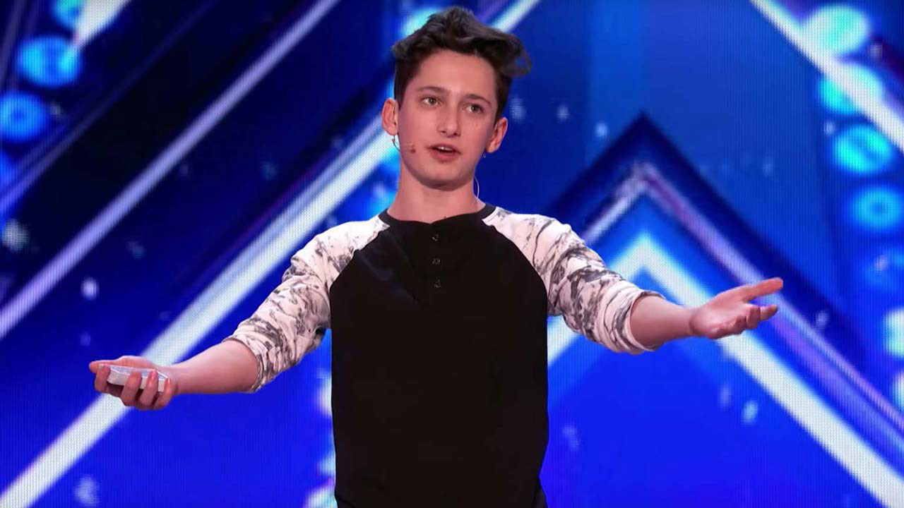 Americas got talent 2017 science guy - 15 Year Old Magician Leaves America S Got Talent Judges Spellbound With Epic Card Tricks 9news Com