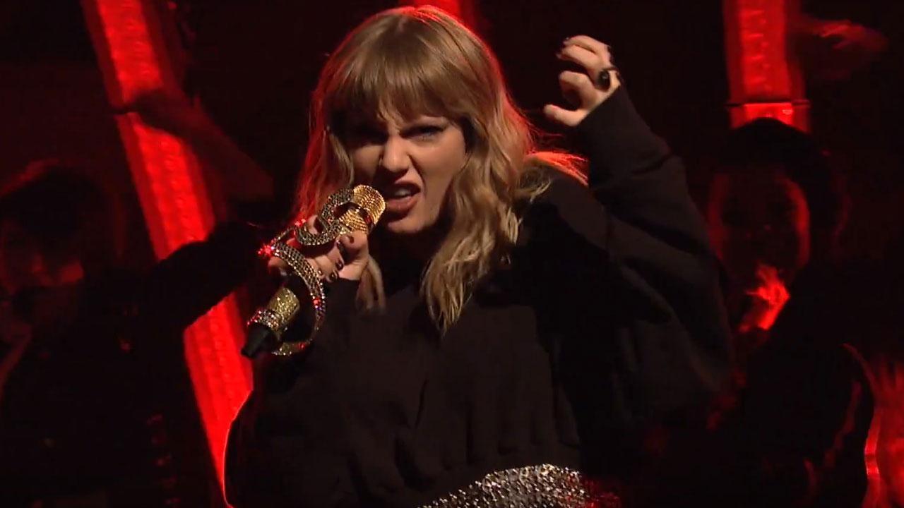 Taylor Swift Defends Her \u0027Reputation\u0027 As a Great \u0027SNL\u0027 Musical ...